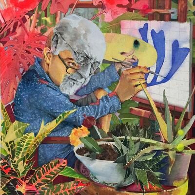 Esteban del Valle, 'Plants are so hot right now', 2018