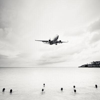 Josef Hoflehner, 'Jet Airliner 60, Continental Airlines Boeing 737-700, St. Maarten', 2011