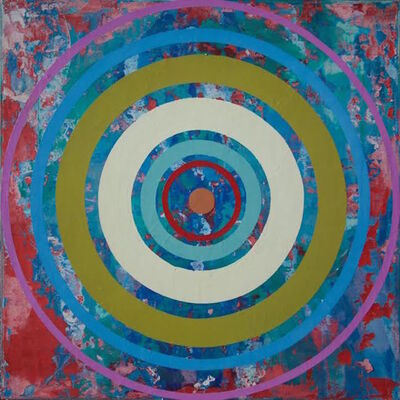 Perry Burns, '3rd Eye Bullseye', 2015
