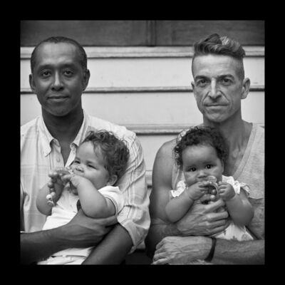Robert Kalman, 'Genilson & Mark with Twins'