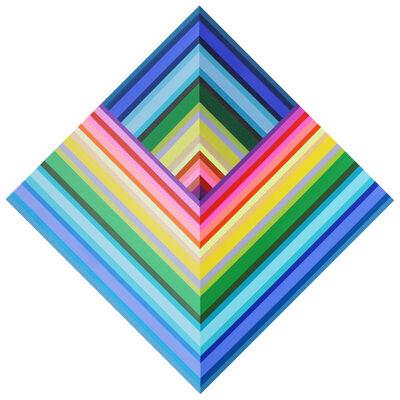 Kristofir Dean, 'Inverse Spectrum Pyramid', 2018
