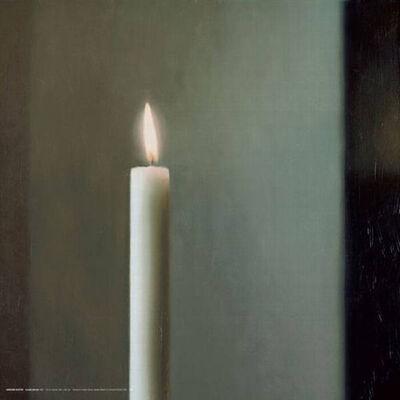 Gerhard Richter, 'Kerze poster', 2011