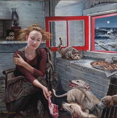 Andrea Kowch, 'High Tide - Limited Edition Hand Signed Print', 2019