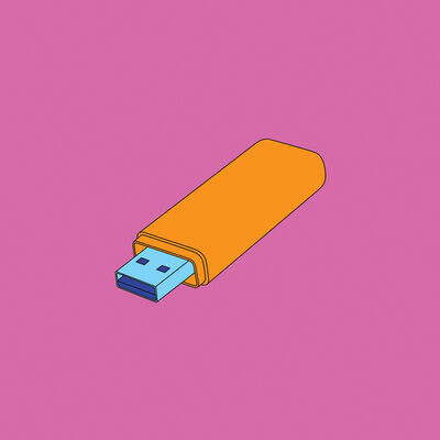 Michael Craig-Martin, 'Objects of Our Time: Memory Stick', 2014