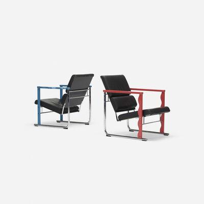 Yrjö Kukkapuro, 'Experiment lounge chairs, pair', 1982