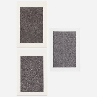 Bruce Conner, ' BOOK ONE plate 10, BOOK ONE plate 8 and BOOK ONE plate 14 (three works)', c. 1970