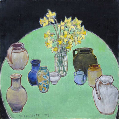 Joseph Plaskett, 'Pots and Daffodils', 2009