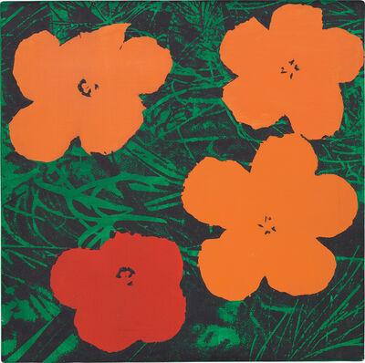 Sturtevant, 'Warhol Flowers', 1969
