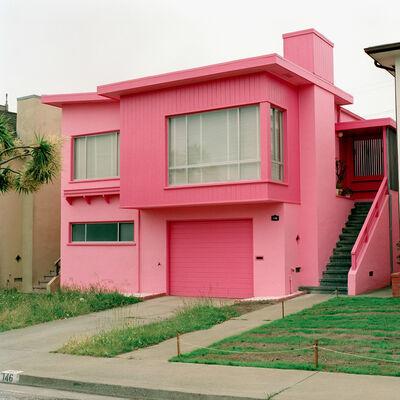 Jeff Brouws, 'Carmen Red, Daly City, California', 1991