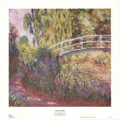 Claude Monet, 'Japanese Bridge', 1990