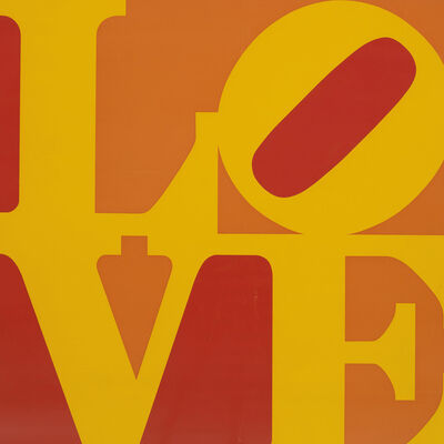 Robert Indiana, 'Golden Love,', 1973