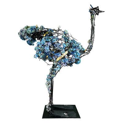 Angelo Accardi, 'Flower Ostrich ', 2020