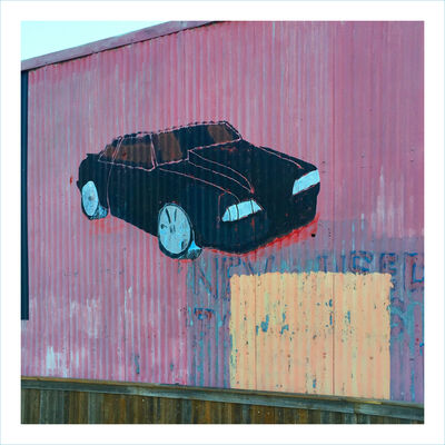 William Greiner, 'Car Mural Panther Island, Fort Worth TX', 2018