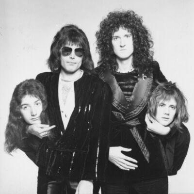 """Terry O'Neill, 'Queen """"Heads Up""""(1975)', 1975"""