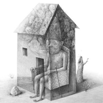 Stefan Zsaitsits, 'house in the desert', 2019