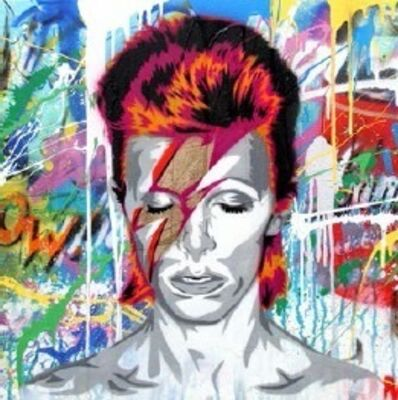 Mr. Brainwash, 'David Bowie', 2016