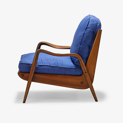 Phil Powell, 'New Hope lounge chair, New Hope, PA', 1960s