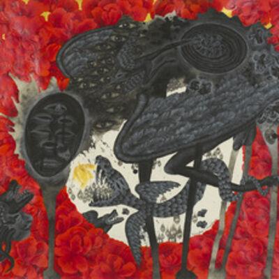Kriangkrai Kongkhanun, 'The Golden Flower, Chapter 1 The Lose Moon', 2015