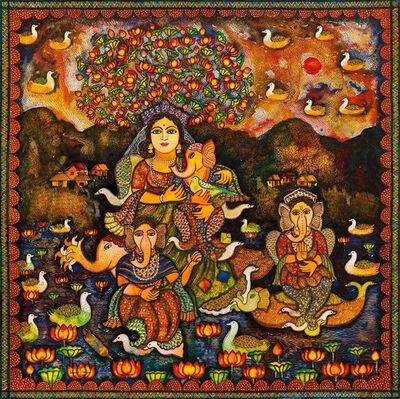 Jayasri Burman, 'Maternal Embrace', 2015