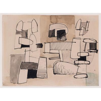 Jean Hélion, 'Étude pour trois figures', 1934