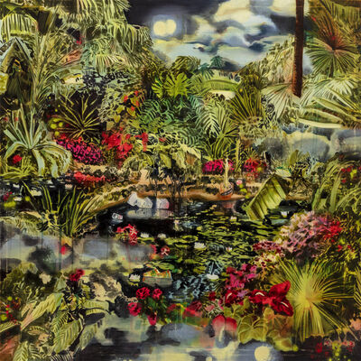 Rosson Crow, 'The Stars Did Fall (at the Sunken Gardens)', 2020