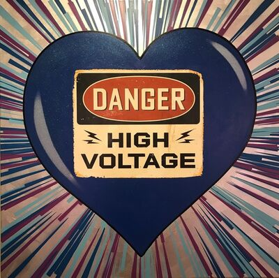 Rubem Robierb, 'High Voltage (Blue)', 2016