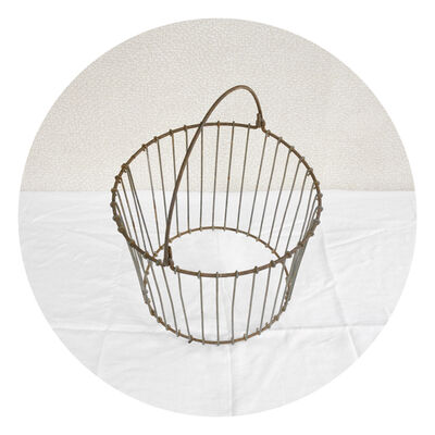 David Halliday, 'Clam Basket', 2010