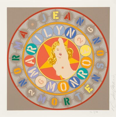 Robert Indiana, 'Marilyn Monroe, from The American Dream Portfolio', 1997