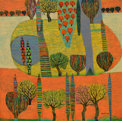 Nabil Anani, 'Landscape Dream', 2018