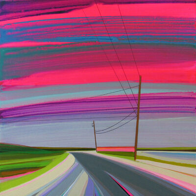 Grant Haffner, 'Louse Point, Pink Sky', 2016