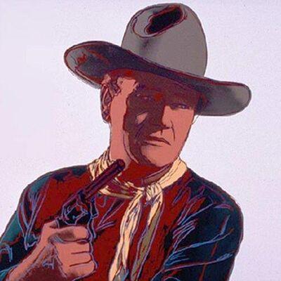 Andy Warhol, 'John Wayne', 1986
