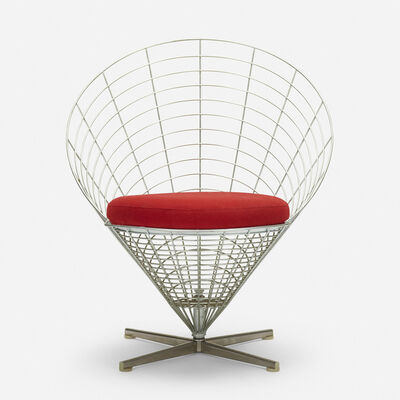 Verner Panton, 'Wire cone chair, model K2', 1959