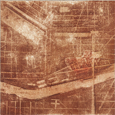 Merrick Belyea, 'Study for The Bombing of London'