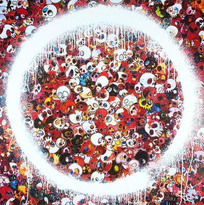 Takashi Murakami, 'ENSO: MOMENTO MORI RED', 2016