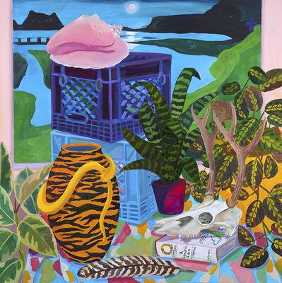 Anna Valdez, 'Still Life with Landscape Painting', 2020