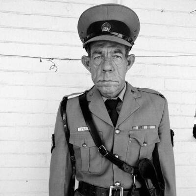 Roger Ballen, 'Sergeant F de Bruin, Dept of Prisons Employee, Orange Free State ', 1992