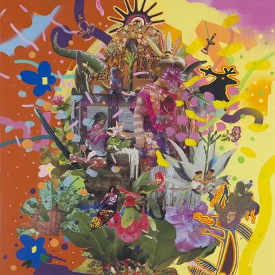 Yoh Nagao, 'Floating Colors II', 2016