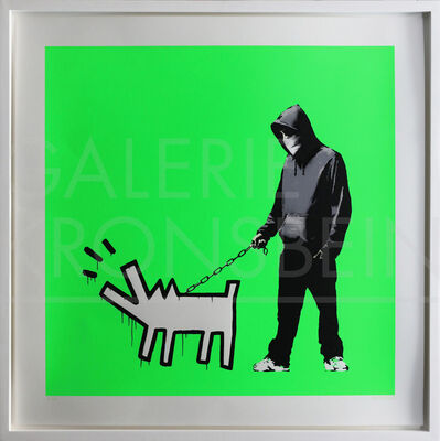 Banksy, 'Choose Your Weapon (Fluoro Green) signed', 2010
