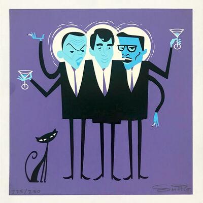 Josh Agle (Shag), 'Three Hipsters (The Rat Pack)', 2002