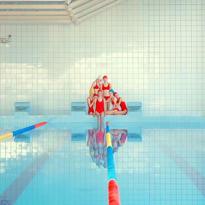 Maria Svarbova, 'Girl Pool ', 2018