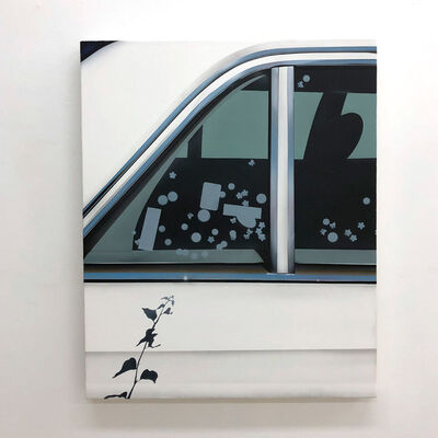 Aaron Elvis Jupin, 'I think I See It, Trees and Flowers (Backseat Driver)', 2019