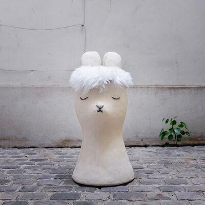 Clémentine de Chabaneix, 'Big Bunny Stool', 2018