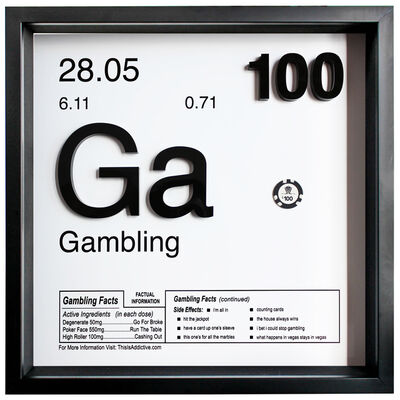Daniel Cohen, 'Gambling (Ga - 100)', 2019