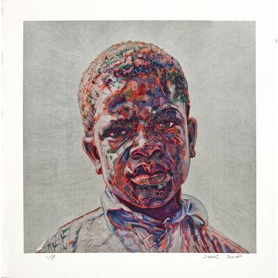 Hung Liu, 'Clarence Weems', 2018