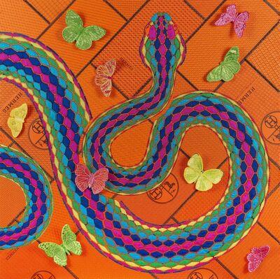 Stephen Wilson, 'Neon Serpent', 2020