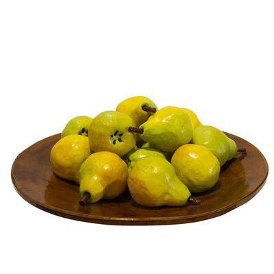 Betty Spindler, 'Plate of Pears', 2020