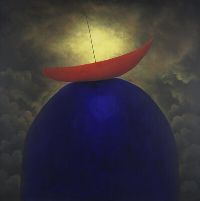 MacKenzie Thorpe, 'Stranded ', 2015
