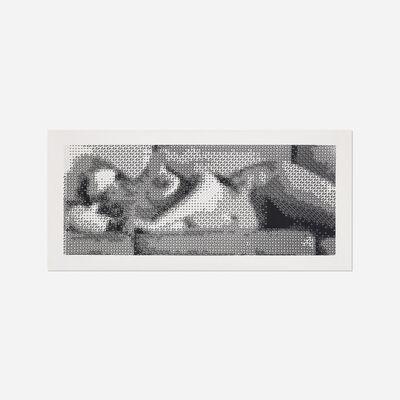 Leon Harmon, 'Computer Nude (Studies in Perception I)', 1967