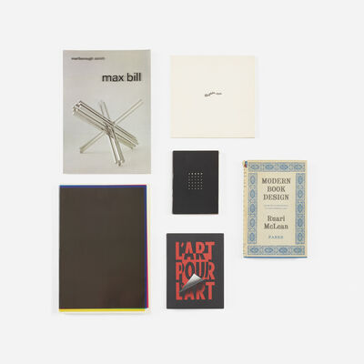 From the library of Paul Rand, 'collection of six inscribed publications', 1961-1996