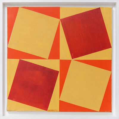 Germaine Derbecq, 'Pintura múltiple. Serie 14 no 1.', 1969
